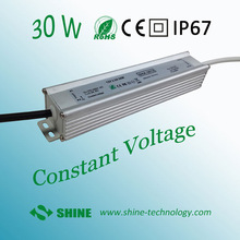 Hot-sale IP67 design for indoor or outdoor installations 12v 30w led tube transformer