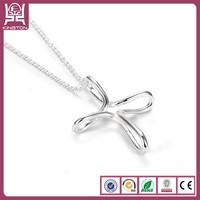 bend wire jewelry maltese cross pendant