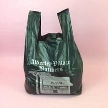 High Quality HDPE Plastic Vest Carrier/T-shirt Handle Bags