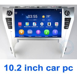 High quality 10.2inch 2 din in dash car dvd for Toyota Camry