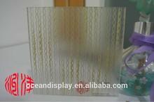 Acrylic resin sample for hotel in Dubai