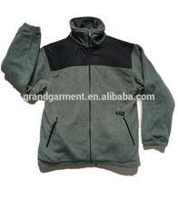 Men's Bi-color Warm Leisure Sweatshirt for Winter