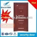 Grano de madera doble festival 11 descuento grande de acero puerta de seguridad f- 1( stock)