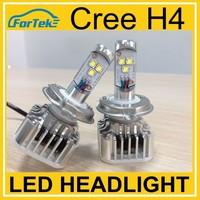 Best quality cree led headlight 60w 6000lm car h4 high low