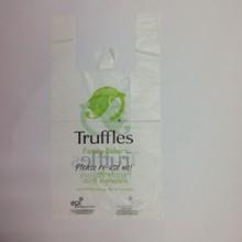 Eco-Environment Plastic Vest Carrier/T-shirt Handle Bags