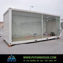 Glass modular homes