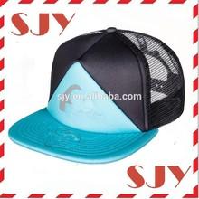 china wholesale short brim custom child hip hop cap