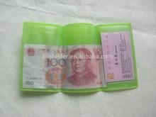 plastic ticket holder