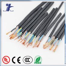300v/500v vde h05vvh2-f power cord color-coded pvc jacket