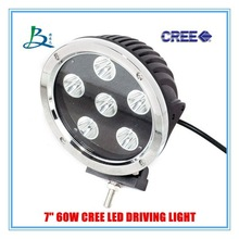 wholesale price cree led driving light 60w with silver color aluminium housing