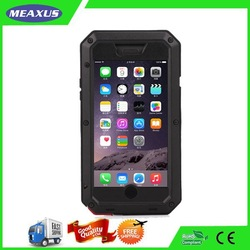 Taktiking Extreme aluminum case for Phone 6 waterproof cover with tempered Gorilla glass