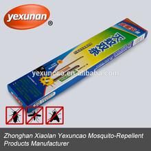 hecho en china de madera de sándalo incienso de mosquitos