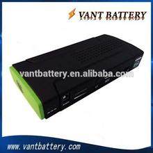12V 12000mah portable emergency car jump starter and power bank
