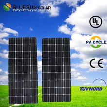 2014 High efficient BlueSun 100w solar panel monocrystalline