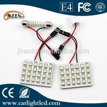 T10 1210 LED Interior Light,24SMD White Auto Dome Bulb