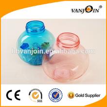 1 oz Clear PET Amenity Bottles & Mushroom Caps