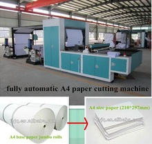 second hand A4 A3 paper machinery with good quality and low price