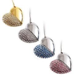 Jewelry USB Flash Drive /Favorites Compare Engraving logo heart usb flash drive,bulk cheap Jewelry drive2gb,4gb,8gb,16gb, 32gb