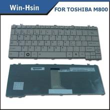 Glossy white wireless laptop keyboard for toshiba satellite u505