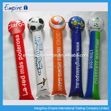 New design high quality cheap light up cheering stick with pom poms