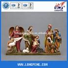 Indoor Crafts Resin Christmas Nativity set