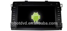 car dvd android capacitive screen fit for kia SORENTO 2011
