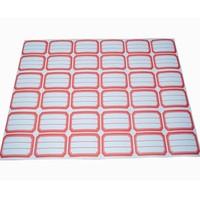 gloss lamination adhesive address label