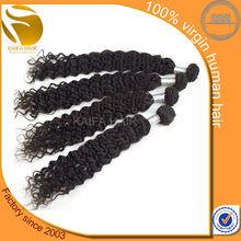 KaiFa Hot Beauty 4A Virgin Indian Remy Jerry Curl Hair Weave