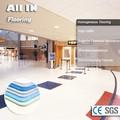 Cor opcional pisosde plástico anti- estático nivelador de piso