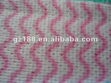 (Viscose +PET) Mesh Spunlace Nonwoven Fabric cleanning room