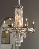 Classic round crystal marocaine lustre en cristal