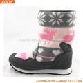 Chino 2015 caliente de la venta de la marca nombre woolen+leather baratos zapatos de invierno