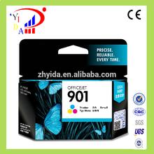 Original ink cartridge for hp901 J4660,J4680J4580,J4640 4500 printer