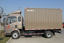 4x2 Diesel Light Cargo Truck Van Cargo Truck Mini Truck