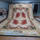 100% Wool Hand Made French Chinese Aubusson Carpet