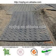 Hdpe temporary floor protection mats/track road construction matte plastic polyethylene