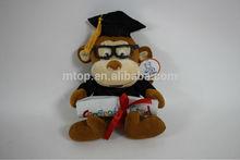 Custom wholesale plush doctor monkey