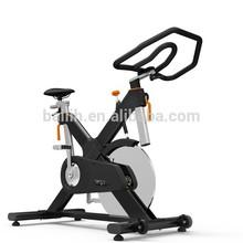 Indoor cycle trainer w/ fluidity flywheel V8 gym equipment/cardio euipment/aerobics fitness euipment