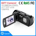 Nuevo 2.7 12mp pulgadas digital de vídeo videocámara cámara de 4x zoom digital dv