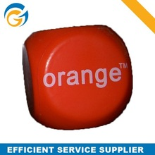 Promotional PU Squeeze Toys Dice Stress Ball