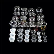 plastic yogurt cups/ plastic tea cups bulk/ dessert sauce