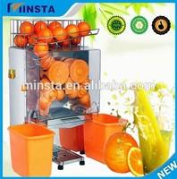 free shipping commercial automatic fresh orange juice extractor orange juicer squeeze machine