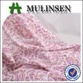 textil mulinsen muy baratos impreso tejido de la tela para los vestidos de gasa de algodón precio