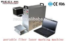 2014 Cell phone with fiber laser marking machine/Digital laser marking head