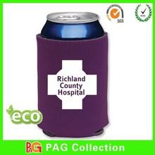 foldable beer can cooler bag/3mm neoprene can cooler