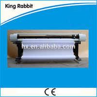 Rabbit high speed low price 1.8m HP45 inkjet plotter with CE