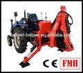 Jardim trator retroescavadeira para pequenos tractores