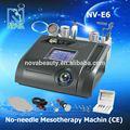 Nv-e6 pas- aiguille de mésothérapie beauté machine de soins de la peau