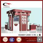 OEM logo and size cosmetic display kiosk/display mall kiosk/kiosk for cosmetic shop