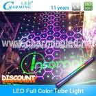 Full color outdoor tube light